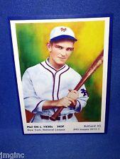 Mel Ott, New York, ArtCard #33 - Baseball card  of HOF player c.1930s