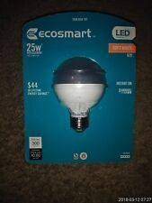 Ecosmart LED Soft White 25W Dimmable Light Bulb G25