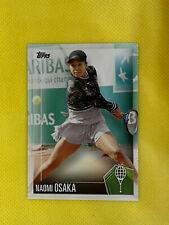 NAOMI OSAKA 2019 Topps Tennis Hall of Fame HOF Rookie Card #50 SP READ