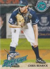2017 Bridgeport Bluefish Chris Rearick Atlantic League Independent