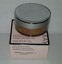 MK Makeup Mineral Powder Foundation .28oz Bronze 3 New