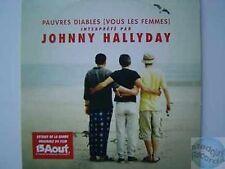 JOHNNY HALLYDAY PAUVRES DIABLES CD SINGLE