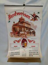 1978 Budweiser Calendar Anheuser Busch Brewery Carriages & Trucks History