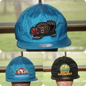 Mitchell & Ness Denver Nuggets Vancouver Memphis Grizzlies Hardwood Classics Hat