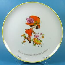 Mopsie Collector Plate LOVE IS GOOD FOR GROWING THINGS 1973 Vintage Retro