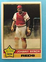 1976 Topps Baseball Card #300 Johnny Bench Cincinnati Reds HOF