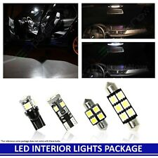 WHITE LED Interior Lights Accessories Replacement Package for 2005-2012 Acura RL