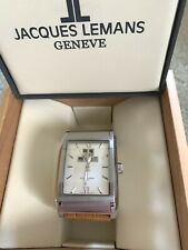 Jacques Lemans Geneve Collection Sigma Automatic G186 Sapphire Crystal Watch