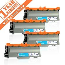 4 High Yield TN750 TN720 Black Toner Cartridge For Brother MFC-8710DW HL-5450DW