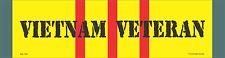 "Vietnam Veteran Military Bumper Stickers 3"" x 11 1/2"""