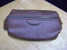 Rolfs Vinyl Travel Bag Toiletry Mens Shave Bag
