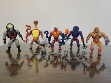 He Man 1980?s Vintage Action Figures Lot of 5 - MOTU Masters of the Universe