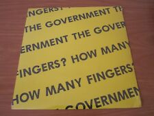 THE GOVERNMENT - HOW MANY FINGERS ?