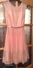 Bnwt 🎀 Coast 🎀Size 10 Lori Issy Blush Lace Dress Bridesmaid Weddings Races New