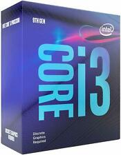 Intel Core i3-9100F Processore 4x3.6 GHz 6MB-L3 Cache Socket 1151 GRADO A- USATO