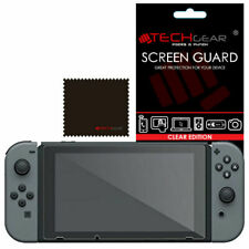 TECHGEAR Clear Screen Protector Guard Cover for Nintendo Switch Console