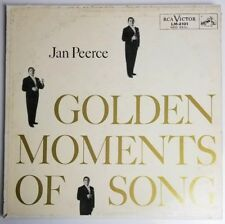 Jan Peerce Golden Moments of Songs Lp  LM-2101