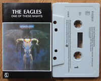 THE EAGLES - ONE OF THESE NIGHTS (ASYLUM K453014) 1975 UK CASSETTE TAPE VG+