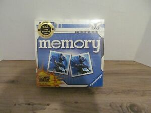 STAR WARS THE CLONE WARS MEMORY GAME RAVENSBURGER AGE 4+  NEW SEALED