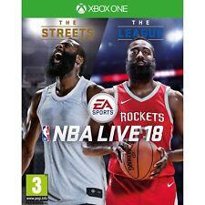 Xbox One Game NBA Live 18 EA Games Basketball 2018