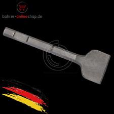 Spatmeißel breiter Meissel 75x250mm für Bosch 19mm Sechskantschaft mit Bund