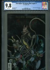 Dark Nights: The Batman Who Laughs #1   CGC 9.8  WP  (Foil cover)