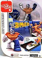 NEW APPTIVITY WWE Wrumblers REY MYSTERIO iPad App Game Mattel *RETIRED* OOP RARE