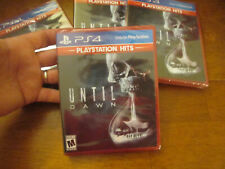 UNTIL DAWN PS4 PLAYSTATION HITS SONY BRAND NEW  FACTORY SEALED US HORROR