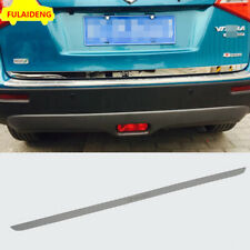 1x For Suzuki Vitara 2015-2018 steel Rear Trunk Tailgate Door Cover Trim
