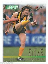 1995 Select All Australian (AA4) Ben ALLAN Hawthorn +++
