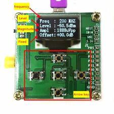 1Mhz - 8000Mhz OLED RF Power Meter AD8318 -55dBm ~ -5dBm.
