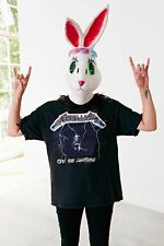 Lisa Frank X UO Urban Outfitters Rose Bunny Mask Latex Rabbit Flower Crown S/O