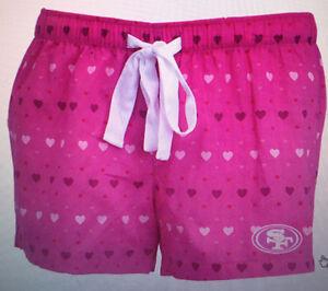 49ers San Francisco Women's Sleepwear shorts - NFL Licensed
