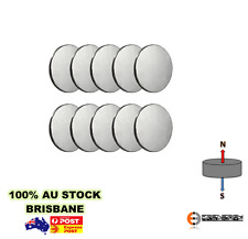10x Strong N50 20mm x 1mm Disc Magnets | Neodymium Rare Earth Disk Model Build
