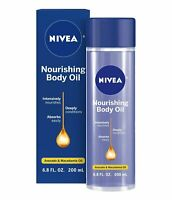 NIVEA Nourishing Body Oil 6.8 fl oz New