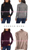 Andrew Marc Womens Turtleneck Long Sleeve Sweater Ladies, Pick Color / Size, NWT