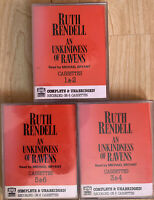 Ruth Rendell An Unkindness Of Ravens 6 Cassette Audio Book Unabridged Wexford