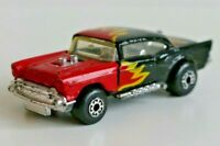 Die-Cast Car - MATCHBOX - Superfast No4 '57 Chevy Red Flame 1979 - Good