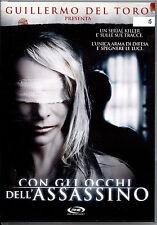CON GLI OCCHI DELL'ASSASSINO - DVD EX-RENTAL, PERFETTO, OFFERTA!