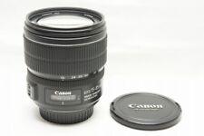 Canon EF-S 15-85mm F3.5-5.6 IS USM AF Zoom Lens for EOS EF-S Mount #210305j