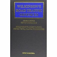 Wilkinson's Road Traffic Offences, , New, Hardcover
