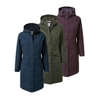Craghoppers Womens Mhairi Warm Waterproof Hooded Jacket RRP £150