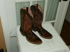Ariat 10006890 Women Ransom Western Professional Rustic Brown Boots size 7 B