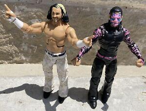 WWE Elite Lot The Hardy Boyz Action Figures
