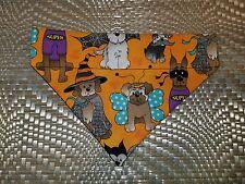 Dog Bandana Over Collar Xs-L Halloween Dogs In Costumes Hats Superdog Bats Fun!