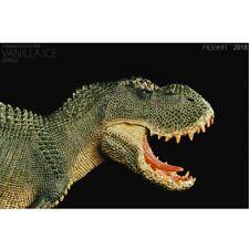 1/35 Rebor Tyrannosaurus Rex Vanilla Ice Jungle Ver Painted Pvc Dinosaur Model
