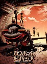 Cowboy Bebop Art Print by JP Valderrama Sunset Blues Ltd /250 Mondo Movie Poster