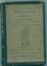 """""""Goody Two Shoes"""", by Oliver Goldsmith, ed by Charles Welsh / HC / 1900 / illos"""