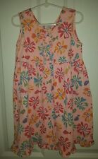 Fresh Produce Dress Girls Size 4T Pink Floral Pattern Summer Cover up Beach