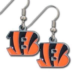 Cincinnati Bengals Dangle Earrings [NEW] NFL Fashion Ear Ring Jewelry Enamel